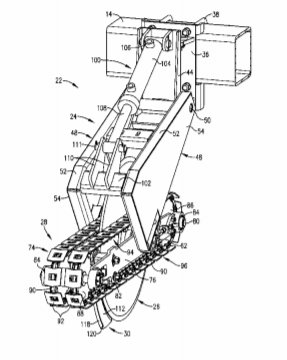 Genesis TRX Patent Drawing