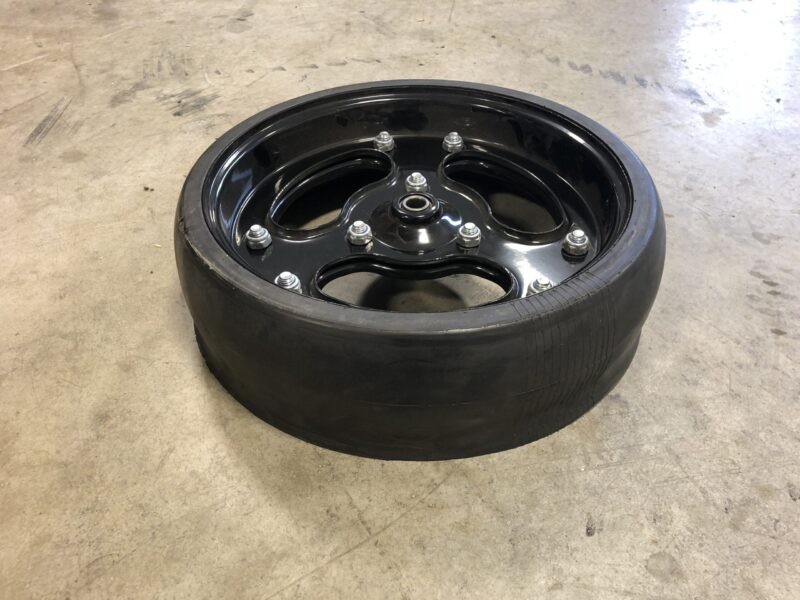 4.5 inch Spoked Gauge Wheel